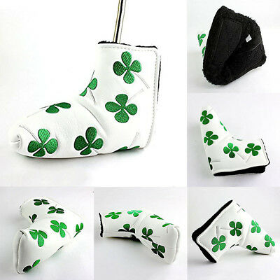 Shamrock Golf Putter Cover Headcover For Scotty Cameron Odyssey Blade New WH