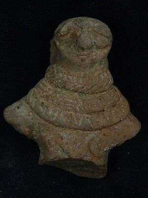 Ancient Teracotta Mother Goddess Torso Indus Valley 600 BC No Reserve #SG4489