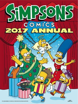 The Simpsons - Annual 2017 (Annuals 2017) (Hardcover) New Book
