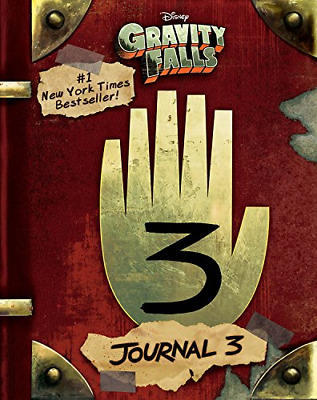 Gravity Falls: Journal 3 (Hardcover) New Book
