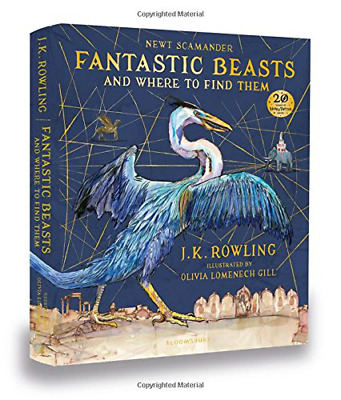 Fantastic Beasts and Where to Find Them: Illustrated Editio (Hardcover) New Book