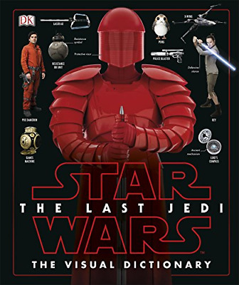 Star Wars The Last Jedi™ Visual Dictionary (Hardcover) New Book
