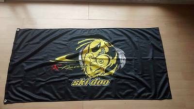 Ski Doo VERY LIMITED flag BANNER 4X2 bombardier AMAZING
