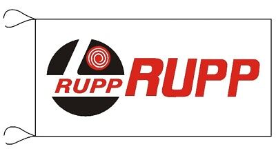 RUPP BANNER FLAG snowmobile VERY LIMITED ski doo 4X2 FT