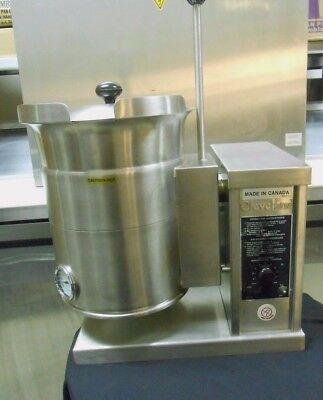 New Cleveland KET-3T Steam Jacketed Electric Tilting Cooking Soup Pot Kettle