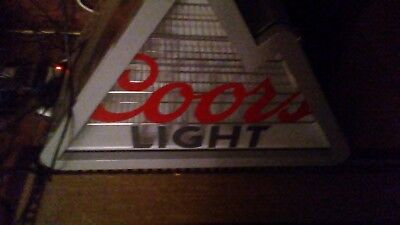 Coors light mountain shaped beverage cooler
