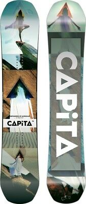 Capita DOA - Defenders Of Awesome Hybrid Camber Snowboard, 156cm 2018