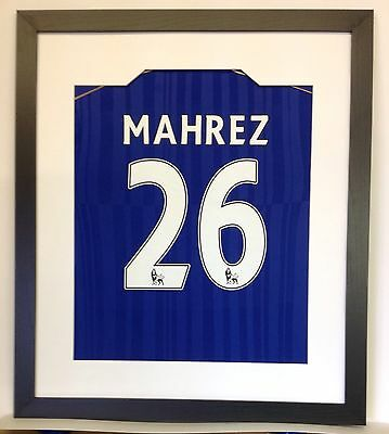 Ready Made Frame For Your Signed Football Shirt + Shirt Insert To Stop Rippling