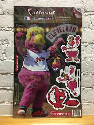 CHIEF MLB Cleveland Indians Mascot Fathead Teammate Peel & Stick Wall Decal
