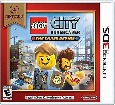 LEGO City Undercover: The Chase Begins Nintendo Selects (Nintendo 3DS, 2016)