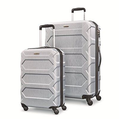 "Samsonite Magnitude Lx 2 Piece Nested Hardside Set (20""/28""), Silver"