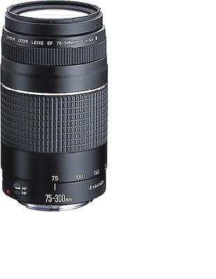 NEW Canon EF 75-300mm f/4.0-5.6 III Lens FREE SHIPPING