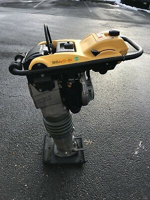 WACKER NEUSON BS60-2i, OIL INJECTED JUMPING JACK RAMMER PAVEMENT COMPACTOR CLEAN