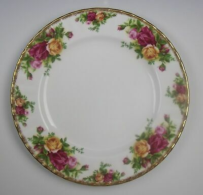 Royal Albert China OLD COUNTRY ROSES Salad Plate(s) Seconds Mark EXCELLENT