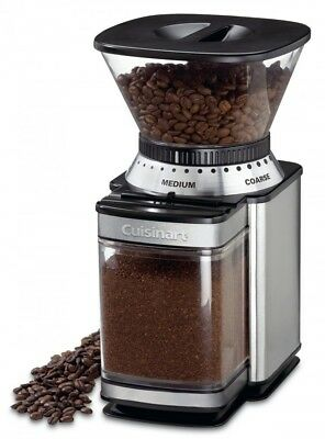 Commercial Coffee Grinder Automatic Electric Burr Mill Business Home Or Office