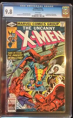 X-men 129 CGC 9.8. First Appearance Of Kitty Pryde And Emma Frost. White Pages