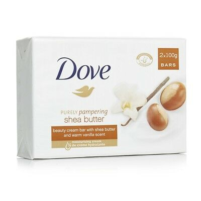 Dove Purely Pampering Beauty Bar, Shea Butter 2x100g