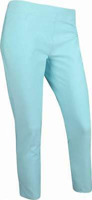 NEW Adidas Womens Ultimate Adistar Ankle Pants - Icy Blue - Small BC7291