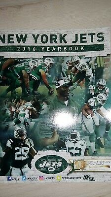New York Jets Jahrbuch 2016, yearbook, Nfl football, USA, NY, meatlife Stadium