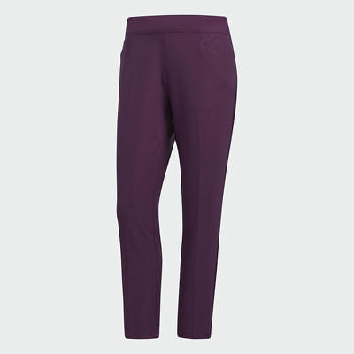 NEW Adidas Womens Ultimate Adistar Ankle Pants - Red Night - Small CF9311
