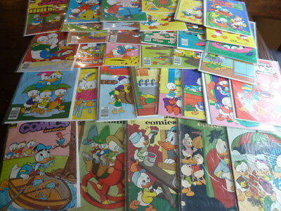 Walt Disney's Comics & Stories and Uncle Scrooge Lot of 36, High Grade, Barks!