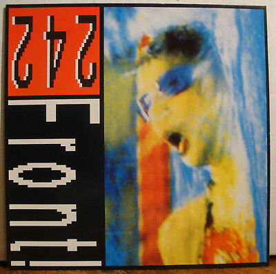 """12"""" FRONT 242 - Never Stop!  1989"""