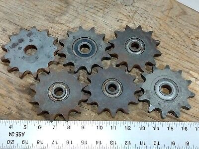 Lot 6 Chain Sprocket Gears Martin & Dodge  - Steampunk metal art