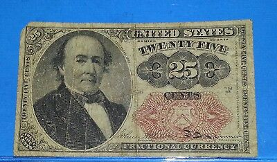 US 25 Cents Fractional Currency Series 1874 - Walker!