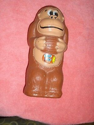 Vintage Donkey Kong Bank 1981 Nintendo  Video Game Collectable