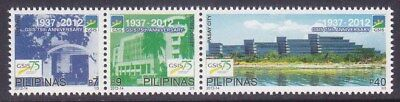 Philippine Stamps 2012 MNH Government Service Insurance System complete set