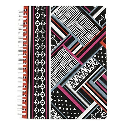 Vera Bradley Mini Notebook with Pocket Northern Stripes