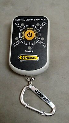 General Tools Lightning Seeker Personal Lightning Detector LD7 Free Shipping