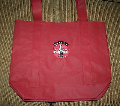 """""""Coca Cola Inspired"""" 1 Red Bag - Old Style side/CocaCola Logo side embroidery"""