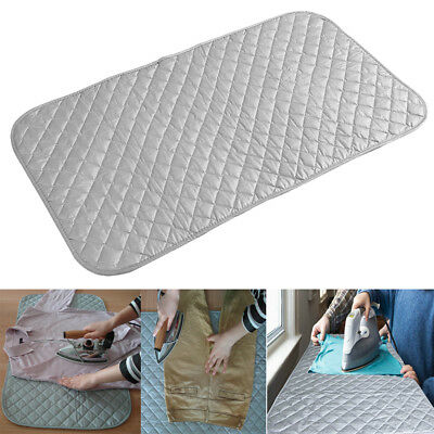 Portable Foldable Ironing Pad Mat Blanket for Table Top & Travelling Accessory S