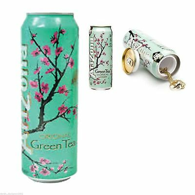 Arizona Green Tea Stash Can  Secret Hidden Security Safe Jewelry