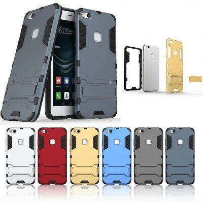 Lite Shockproof Cover Hybrid Protective Rubber Case For Huawei Ascend P8 P9 P10