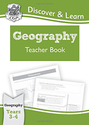 KS2 Discover & Learn: Geography - Teacher Book, Year 3 & 4  (Paperback) New Book