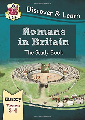 KS2 Discover & Learn: History - Romans in Britain Study Boo (Paperback) New Book