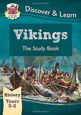 KS2 Discover & Learn: History - Vikings Study Book, Year 5  (Paperback) New Book