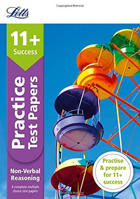 11+ Non-Verbal Reasoning Practice Test Papers - Multiple-Ch (Paperback) New Book