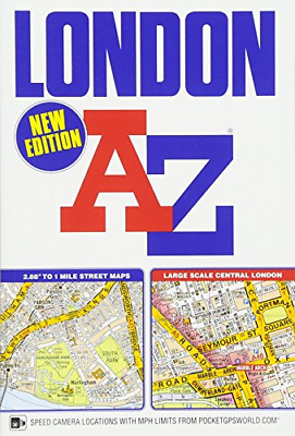London Street Atlas (Paperback) New Book