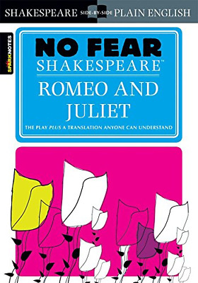 Romeo and Juliet (Sparknotes No Fear Shakespeare) (Paperback) New Book