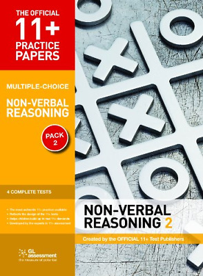 11+ Practice Papers, Non-Verbal Reasoning Pack 2 (Multiple  (Paperback) New Book
