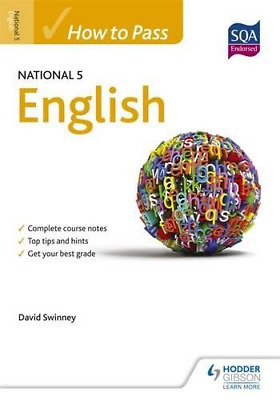 How to Pass National 5 English (How to Pass - National 5 Le (Paperback) New Book