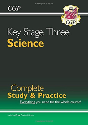 New KS3 Science Complete Study & Practice (with Online Edit (Paperback) New Book