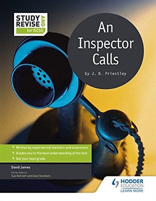 Study and Revise for GCSE: An Inspector Calls (Study & Revi (Paperback) New Book