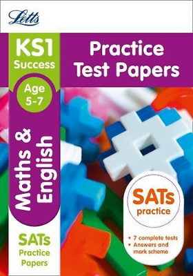 KS1 Maths and English SATs Practice Test Papers: 2018 tests (Paperback) New Book