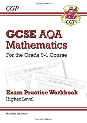 New GCSE Maths AQA Exam Practice Workbook: Higher - for the (Paperback) New Book