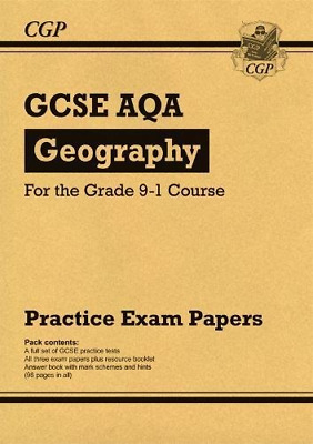 New GCSE Geography AQA Practice Papers - for the Grade 9-1  (Paperback) New Book