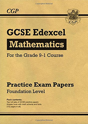 New GCSE Maths Edexcel Practice Papers: Foundation - for th (Paperback) New Book